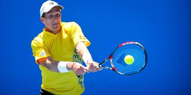 Open d'Australie: Bemelmans et Authom passent le 1er tour des qualifs - La Libre