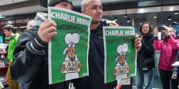 Charlie Hebdo: 360.000 exemplaires supplémentaires en Belgique mercredi - La Libre