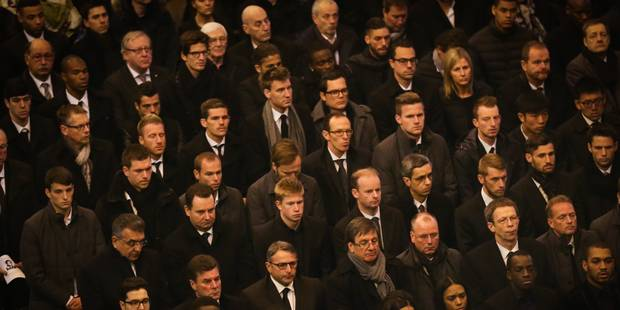 La Basilique de Koekelberg archi-comble pour la cérémonie funéraire de Junior Malanda - La Libre