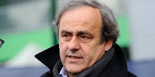 """Platini: """"Le Mondial-2014 des Diables Rouges n'était qu'un tremplin vers 2016 et 2018"""" - La Libre"""