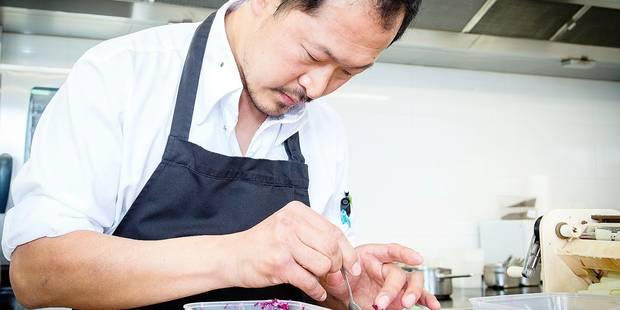 """Liernu : Masterclass avec Sang-Hoon Degeimbre dans son restaurant """" L' Air du Temps """""""