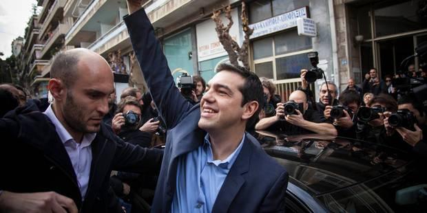 Elections en Grèce: Syriza vainqueur, à la limite de la majorité absolue - La Libre