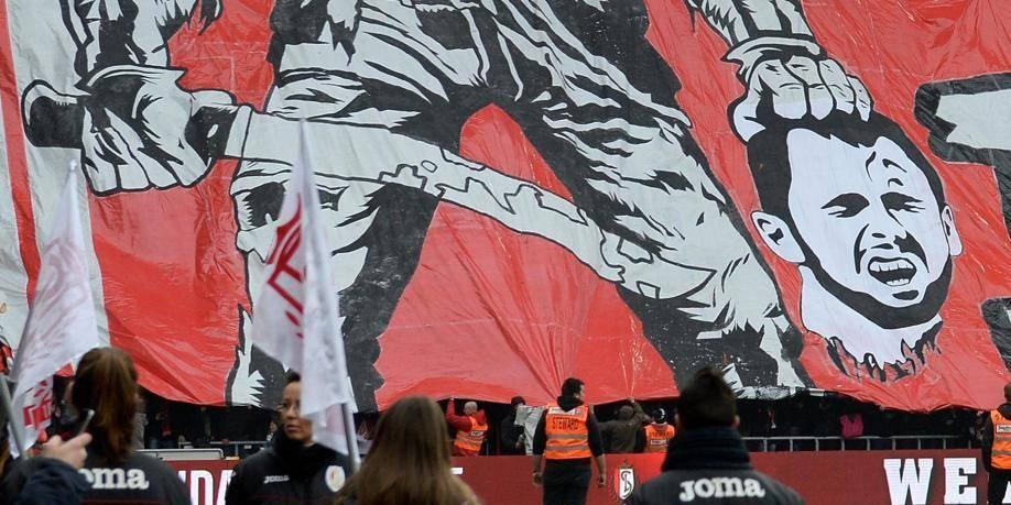 """Tifo anti-Defour au Standard: """"Une limite a été franchie"""""""
