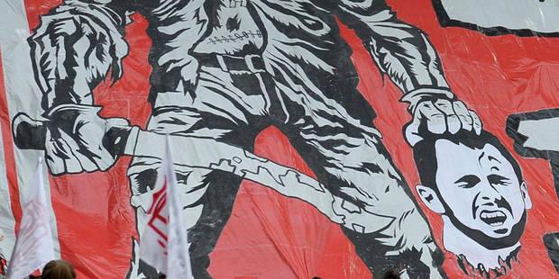 Les Ultras du Standard justifient leur tifo anti-Defour et rencontreront Demeyer samedi - La Libre