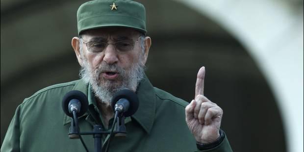 """Dans une lettre, Fidel Castro assure """"ne pas faire confiance aux Etats-Unis"""" - La Libre"""