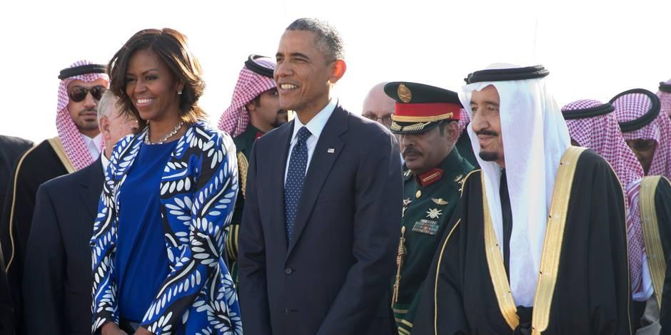 Apparue non voilée en Arabie saoudite, Michelle Obama crée la polémique