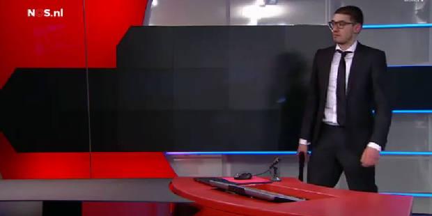 Pays-Bas : un homme armé a interrompu le journal sur NOS - La Libre