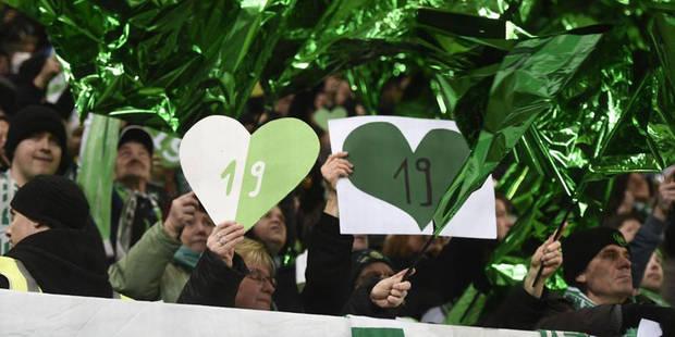 Le magnifique hommage de Wolfsburg à Junior Malanda - La Libre