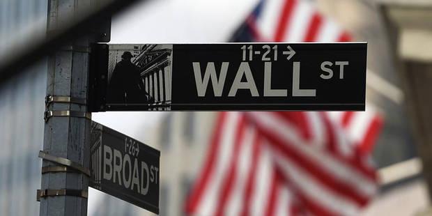 Bourse: Wall Street finit le mois en net repli - La Libre