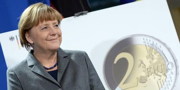 Merkel exclut une réduction de la dette grecque - La Libre