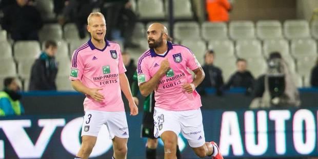 Vainqueur au Cercle, Anderlecht fonce sur le Club de Bruges (0-2) - La Libre
