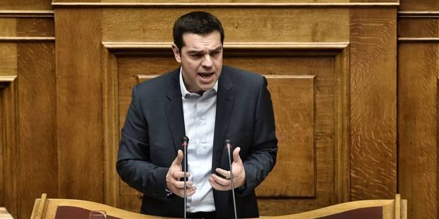 Le taux d'emprunt de la Grèce à nouveau sous pression après le discours de Tsipras - La Libre