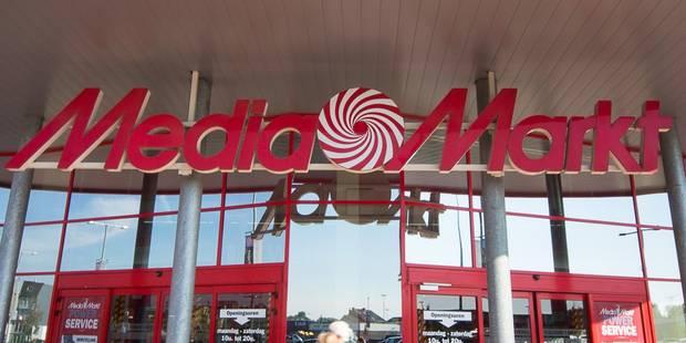 Le Media Markt de Mons-Centre va fermer ses portes en août 2015 - La Libre