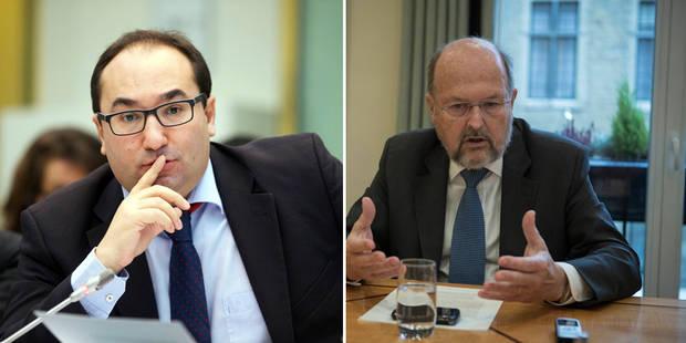 Ahmed Laaouej (PS) se demande si Luc Coene a lu le rapport de la Banque nationale - La Libre