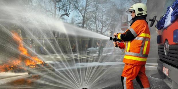 Les recrutements de pompiers bloqués depuis le 1er janvier - La Libre