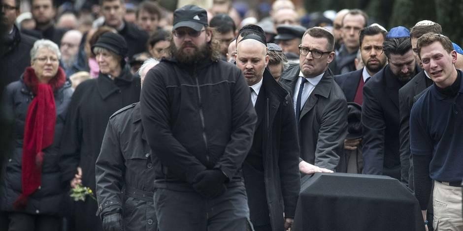 Copenhague: dernier adieu à la victime juive des attaques