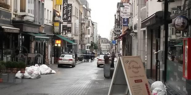 Bruxelles: fusillade et deux blessés graves tout près de l'avenue Louise - La Libre