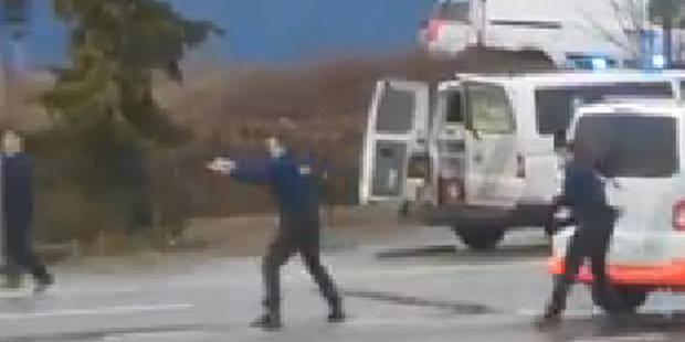 Coups de feu échangés sur la Nationale 4 : quatre individus interpellés - La Libre