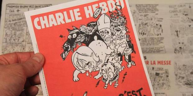 Charlie Hebdo: quelque 100.000 exemplaires disponibles en Belgique jeudi - La Libre