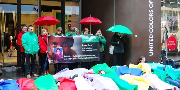 Benetton doit payer 5 millions - La Libre