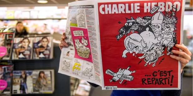 Pourquoi BFM TV est-il raillé sur la couverture du dernier Charlie Hebdo? - La Libre