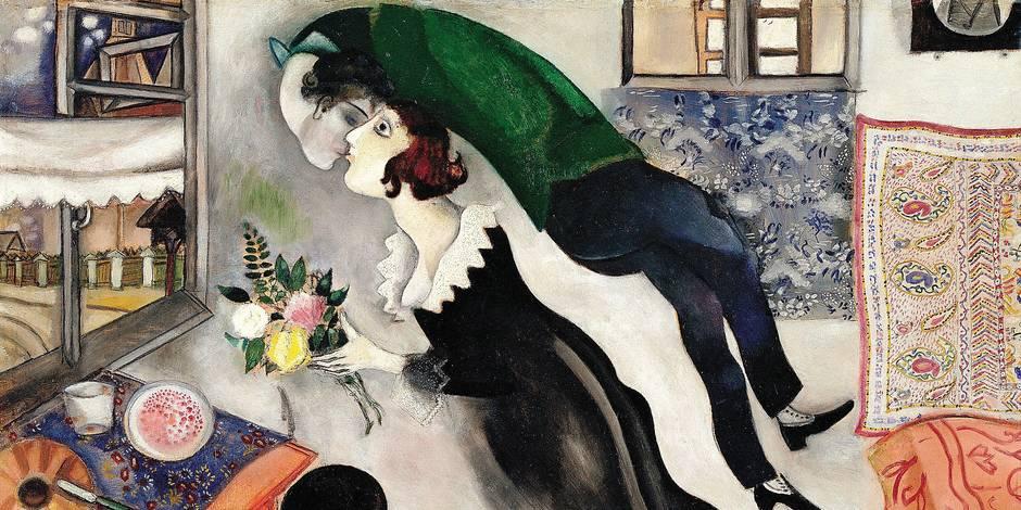 Chagall illumine Bruxelles - La Libre