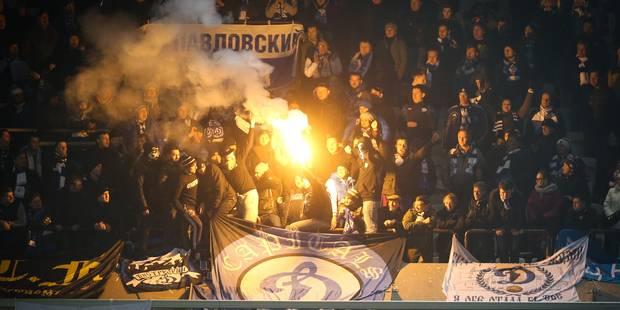 Dynamo-Anderlecht: les supporters mauves attaqués en tribune et à leur hôtel - La Libre