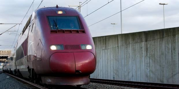 Le gouvernement confirme sa décision de suspendre le Thalys wallon - La Libre