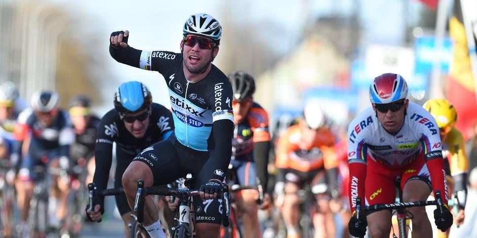 Kuurne-Bruxelles-Kuurne: Mark Cavendish s'impose au sprint