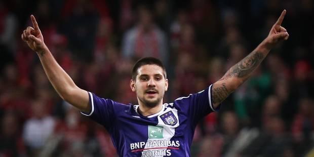 Anderlecht vient à bout de Courtrai et se replace 2-0 - La Libre