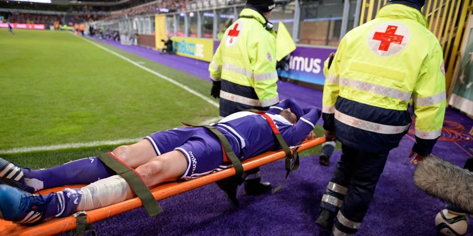 Anderlecht: Defour inquiète, l'exclusion de Rolando jugée suffisante