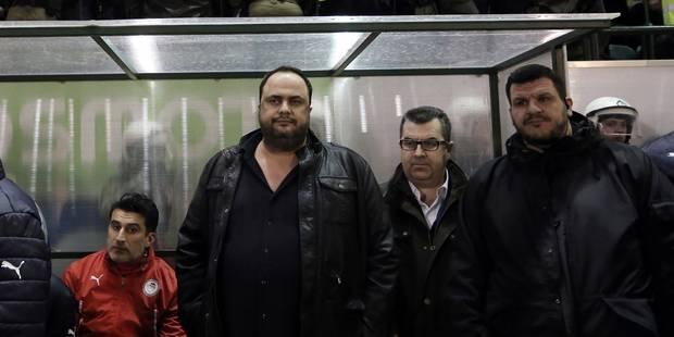 Manque de résultats: Le patron de l'Olympiakos inflige une amende de 500.000 euros à ses joueurs - La Libre