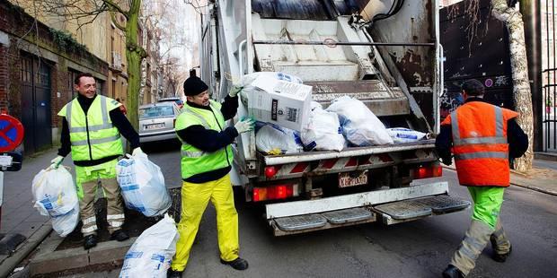 Bruxelles: les sacs blancs récoltés une fois par semaine - La Libre