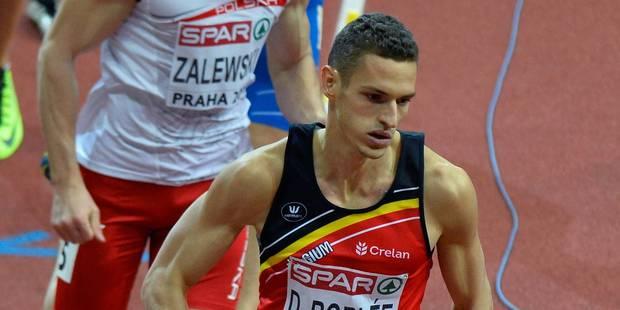 Dylan Borlée décroche l'argent sur 400m à Prague - La Libre