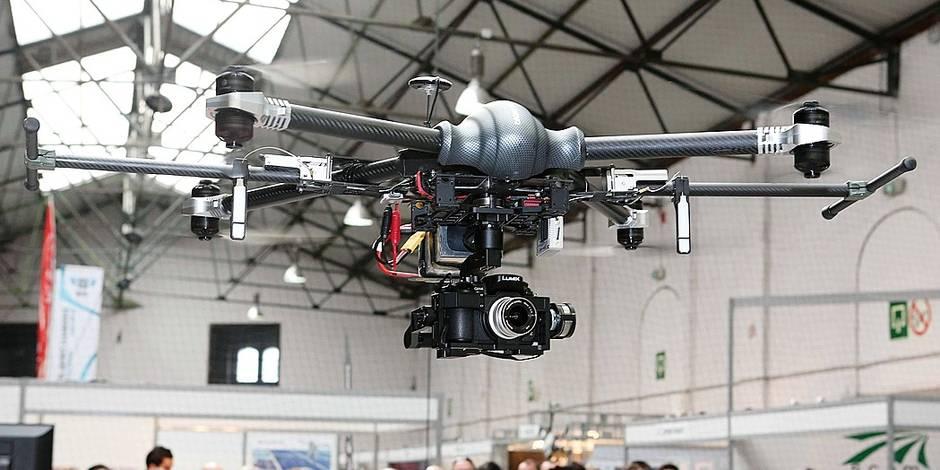 La folie des drones débarque à Bruxelles, avec des facettes inattendues - La Libre