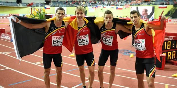 Le relais belge est champion d'Europe! - La Libre