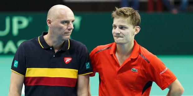 """Coupe Davis: """"Goffin a pris ses responsabilités"""" - La Libre"""