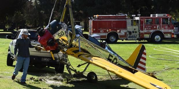 Accident d'avion d'Harrison Ford: voici ce qui a provoqué le crash (Vidéo) - La Libre