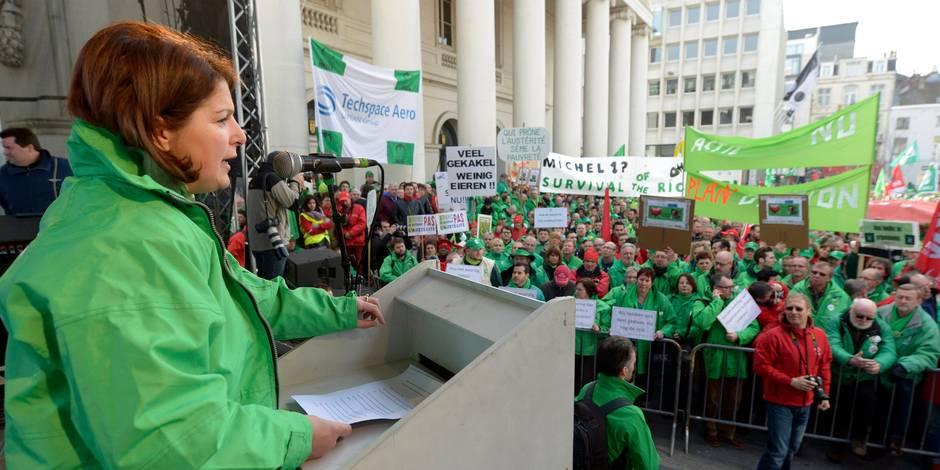 """""""Manifester dans la rue est devenu l'unique solution"""" - La Libre"""