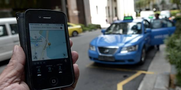 Un chauffeur d'Uber au tribunal - La Libre