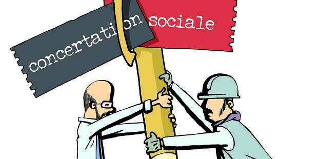 Les différents visages de la concertation sociale - La Libre