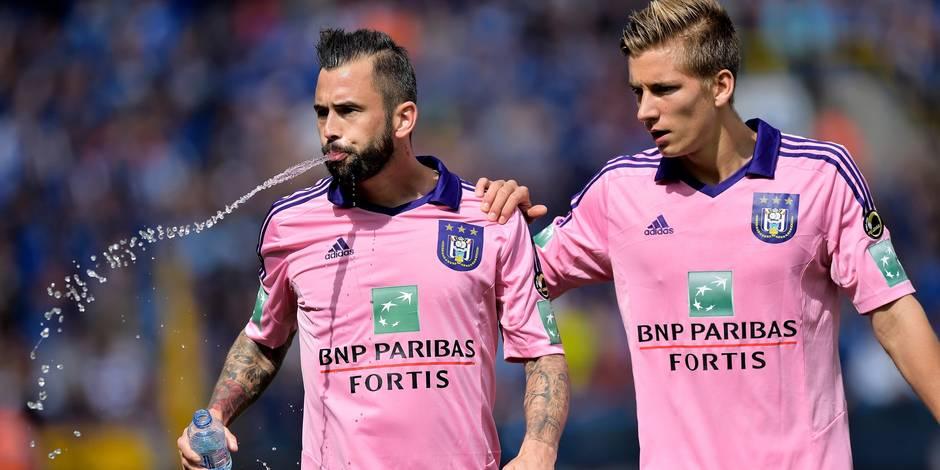 Anderlecht: Defour et Praet de retour pour le match contre La Gantoise