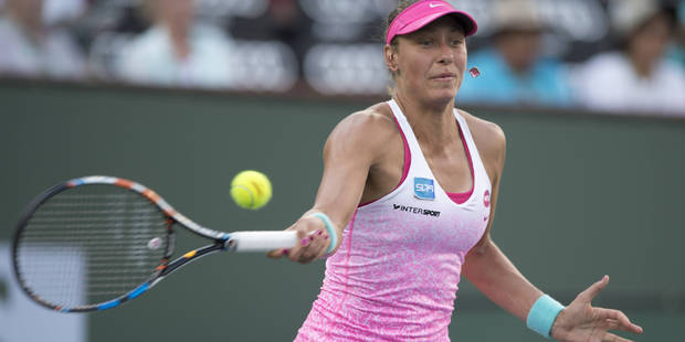 WTA Indian Wells : Wickmayer s'incline face à Sharapova, Flipkens sortie par Azarenka - La Libre