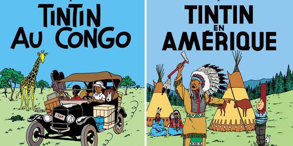 """Après """"Tintin au Congo"""", un autre album d'Hergé crée la polémique"""