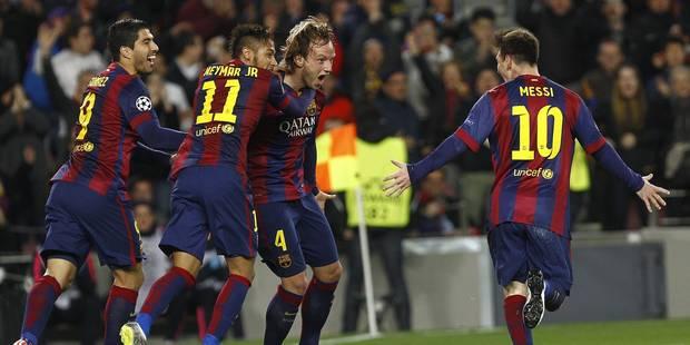 Barcelone trop fort pour City (1-0) - La Libre