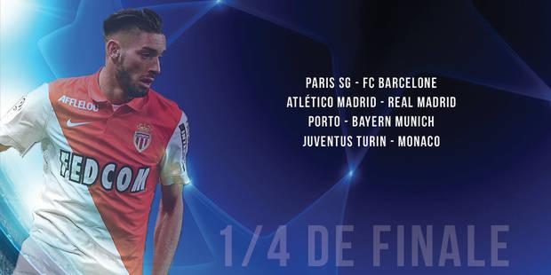 Ligue des Champions : le PSG affrontera Barcelone - La Libre