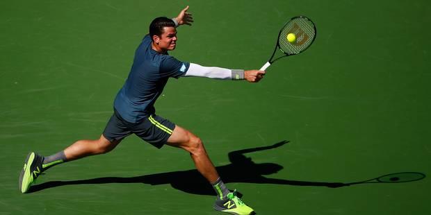 Indian Wells: Raonic s'offre Nadal - La Libre