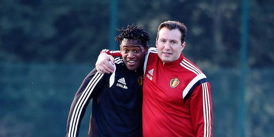 Foot: Training National Soccer Team of Belgium before Chyprus