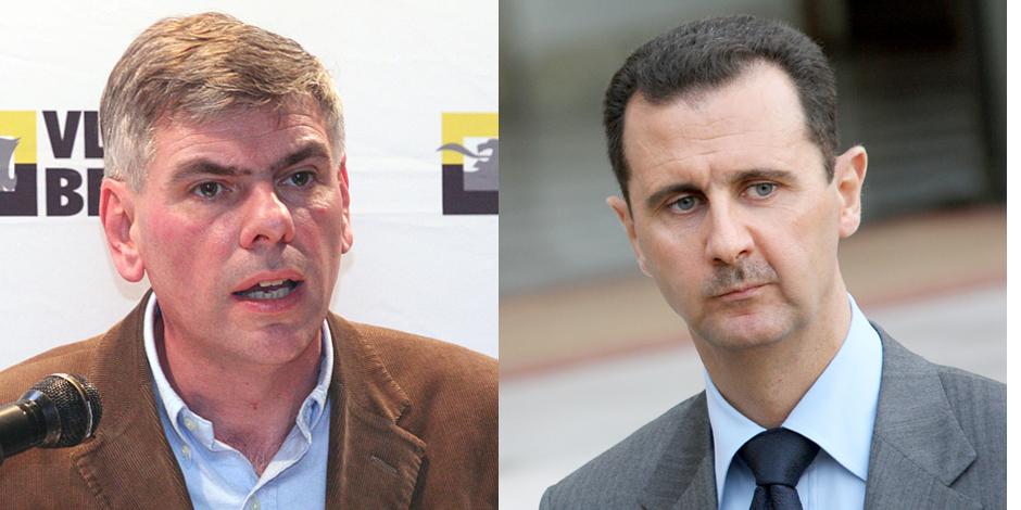 Des parlementaires belges à Damas
