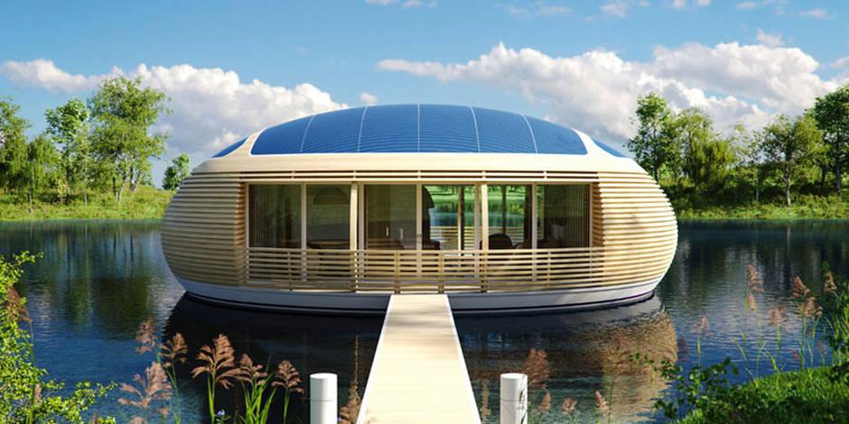 La maison flottante, l'habitat écologique de demain?
